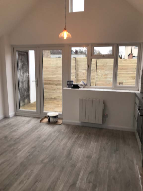 double storey extension cost