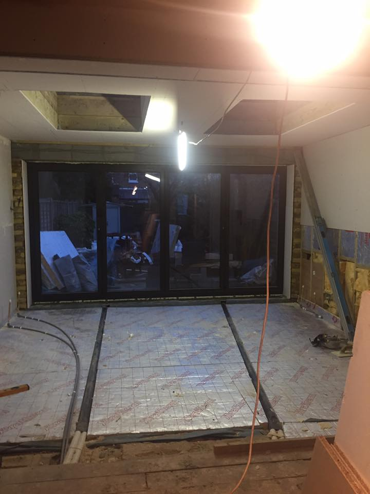 double storey side extension